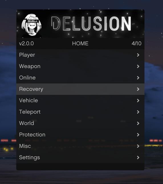 DELUSION V2 MENU